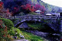 石造秋月の目鏡橋