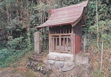 十島仏像焼却地跡