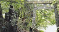 大野岳神社仁王像