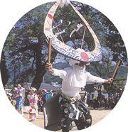 岩蔵天山神社浮立