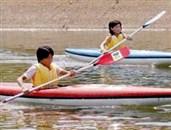 カヌーヨット体験